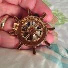 Walt Disney World Authentic Pirates of the Carribbean Flip Open Ship Wheel Pin $8.99