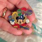 Authentic  Walt Disneyland Resort Mickey Mouse Happy Birthday Balloons Pin $29.99