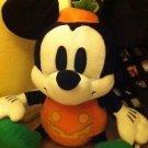 Sega Mickey Mouse Retro White Pumpkin Halloween Plush Stuffed Animal New w Tags $29.99