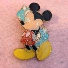 Authentic Walt Disneyland Hong Kong Mickey Mouse Sparkle Retro Star 2011 Pin $34.99