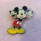 Authentic Walt Disneyland Hong Kong Mickey Mouse Hand Puppet Pin $34.00