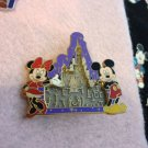 Authentic Disney Mickey and Minnie Puzzle Maze Ball Castle Pin $14.99