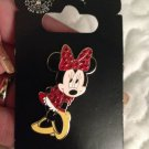 Authentic Walt Disney World Minnie Mouse Red Rhinestone Pin New on Card $14.99