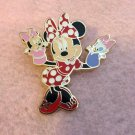 Authentic Walt Disneyland Hong Kong Minnie Mouse Hand Puppet Pin New $34.99