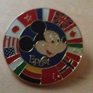 Authentic Walt Disney World Epcot Flags around the world 2000 Pin $16.99