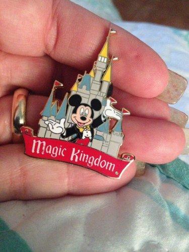 Authentic Disney Mickey Mouse in Tux Magic Kingdom Castle Pin $16.99
