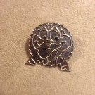 Authentic Walt Disney Epcot ball figment silvertone chaser Pin