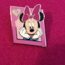Authentic Walt Disney World Large Minnie Mouse 2013 Lanyard Starter Set Pin
