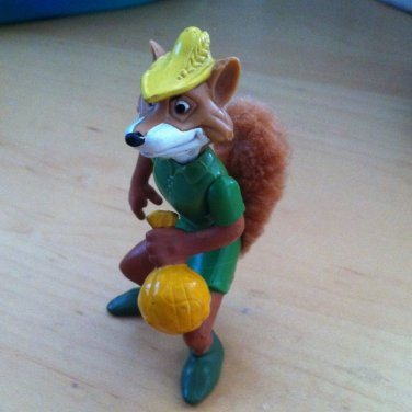 Robinhood Fox Figurine Figure With Bushy Tail Toy