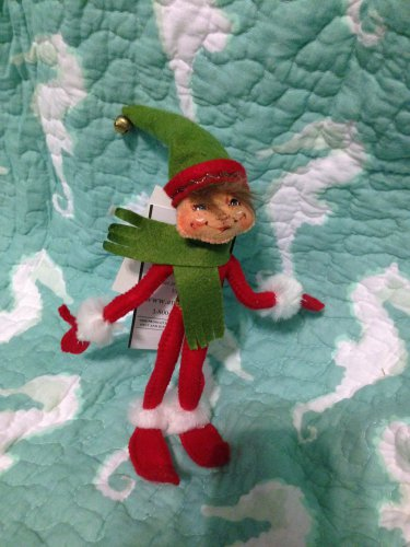 "New Annalee Mobilitee 5"" Red Christmas Delights Elf 2012 $14.99"