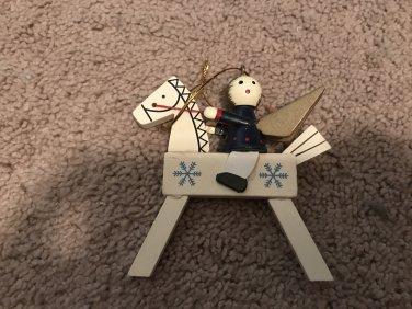 Vintage Woodend Figure Christmas Ornament Horse $4.99