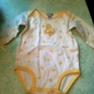 Rare Carter's 0-3 Month Unisex Yellow Chenille Little Duckie 1pc Baby Outfit $9.99
