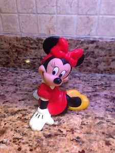 "Disney Minnie Mouse Vintage 7"" PVC Bank $9.95"