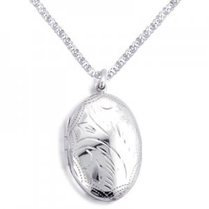 Trendy Sterling Silver Locket