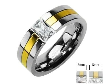 Exquisite Titanium His/Hers Engagement/Wedding Band Size 12(Y)
