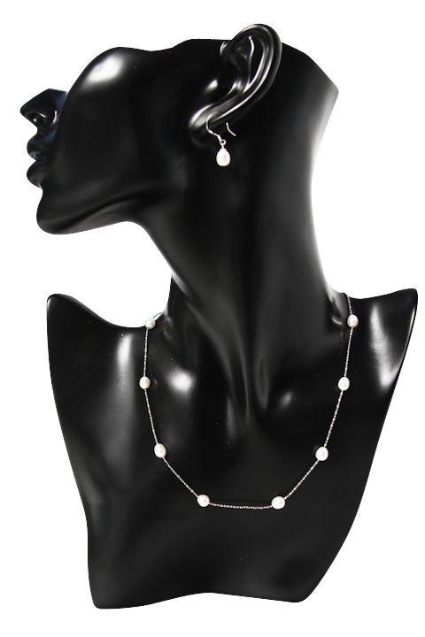 White Freshwater Pearl Jewellery Set