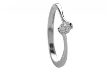 Simply Elegant CZ Ring Size 7.5(P)