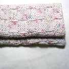 Hand Knitted Dish Cloth 2 pack Cream