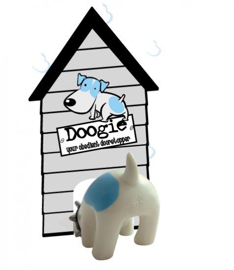 Puppy Door Stopper