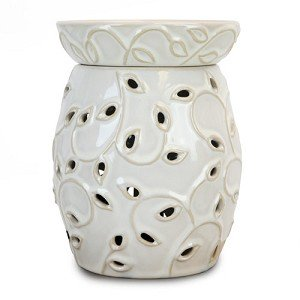 White Ivy Candle Warmer