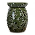 Green Ivy Candle Warmer