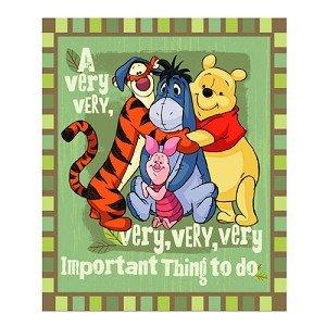 Winnie the Pooh Friends Blanket