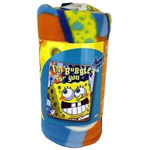 Sponge Bob Blanket Bubbles