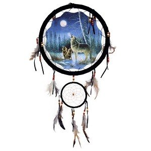 "13"" Wolves Dream Catcher"