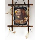 Wooden Frame Eagle Picture