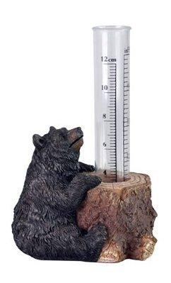 Polyresin Bear Rain Gauge