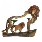 Polyresin Lion Cutaway Scene