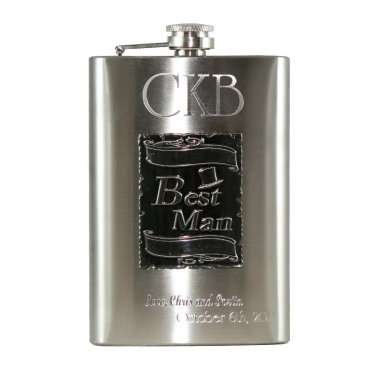 Personalized-best-man-flask