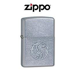 Custom Engraved Dragon Yin-Yang Zippo