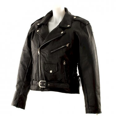 Authentic Motorcycle Leather Jacket