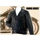 Solid Leather Motorcycle Jacket