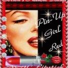 MAC Cosmetics Satin Lipstick ~ MAC Red ~ Vivid Bluish Red