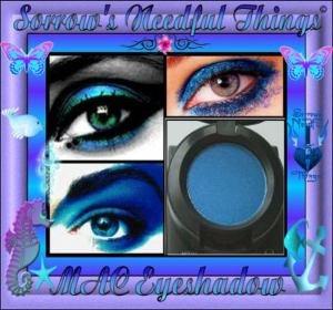 MAC Veluxe Pearl Eye Shadow ~ Blue Calm ~ Professional Line