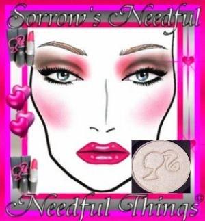MAC Frost Eye Shadow ~ Magic Dust ~ LE Barbie Loves MAC Collection