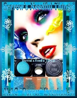 MAC Frost Eye Shadow ~ Parrot ~ Discontinued ~ Originals Collection