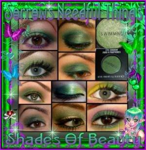 MAC Lustre Eye Shadow ~ Swimming