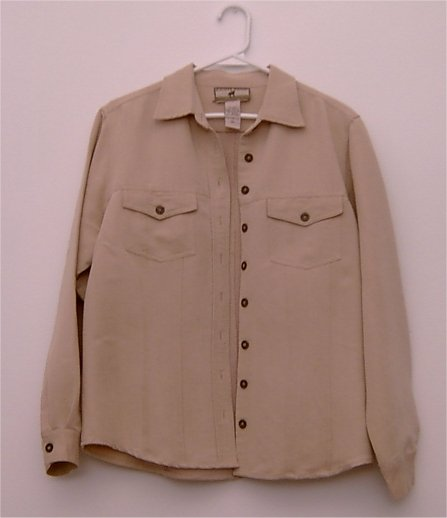 POINT ZERO jacket tan size large 16