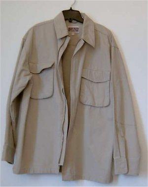 men shirt cotton size large new
