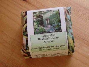 Garden Mint Handmade Soap, 5.5 oz wt