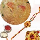 Haldirams Churma Ladoo + Rakhi Kit