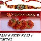 Haldirams Sohan Halwa   + Rakhi Kit