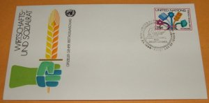 Foreign Cover, United Nations 1980, First Day Cover