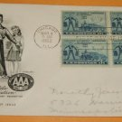 The 50th Anniversary of the American Automobile Association (AAA) First Day Cover