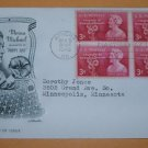 Moina Michael Founder of Memorial Poppy First Day Cover (FDC)
