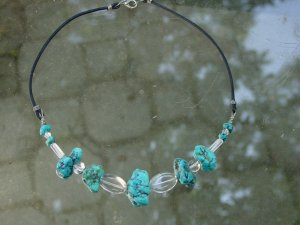 Vintage turquoise necklace