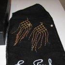 NIB Erwin Pearl Gold Tone Chandelier Dangle Earrings New Box Jewel Pouch Pierced